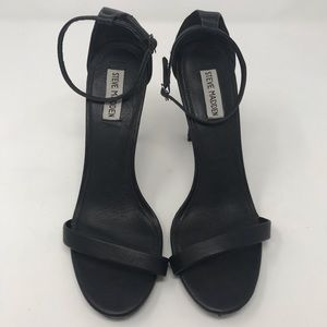 Steve Madden Shoes Open Toe Heels Black Size 11M